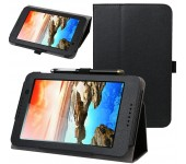 Чехол книжка для планшета Lenovo Tab 2 A7-30 (Черный)