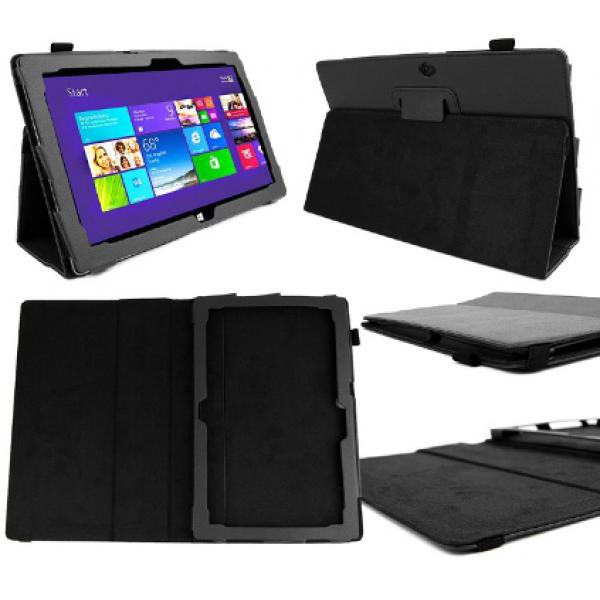 Чехол книжка для планшета Microsoft Surface RT, Surface 2 (Черный)