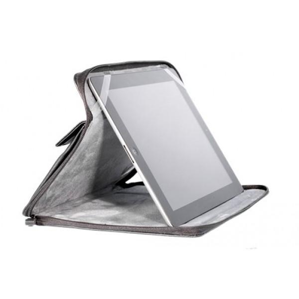 Чехол книжка с ремнем Universal для Samsung Galaxy Note 10.1 (Черный)