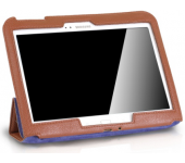 Чехол Slim AntiSpot для Samsung Galaxy Tab 3 10.1 (Коричневый)