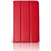 Чехол Slim для Samsung Galaxy Tab 3 7.0 SM-T210, SM-T211, Kids SM-T2105 (Красный)