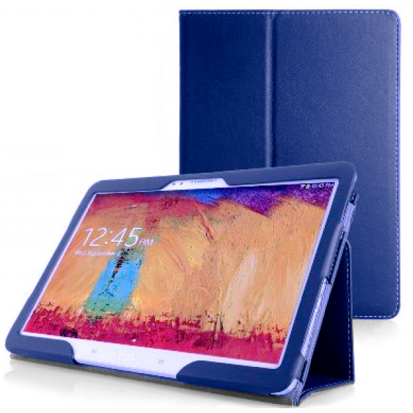 Чехол книжка Classic для планшета Samsung Galaxy Note Pro 12.2 SM-P9000, P9010, P9020, P9050 (Синий)