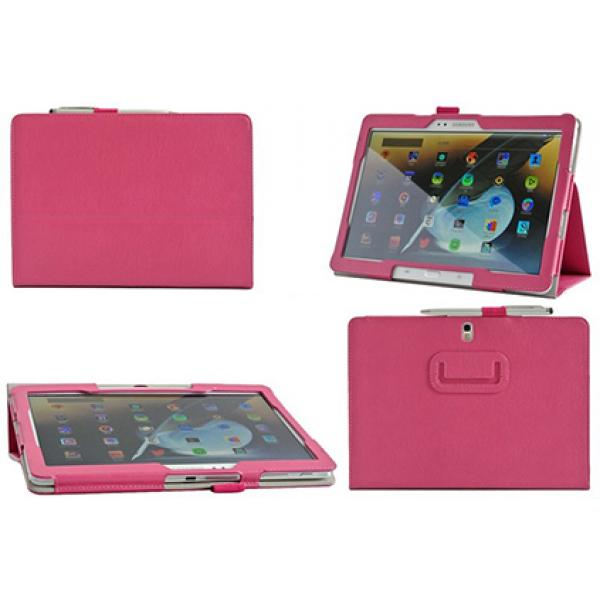 Чехол книжка для планшета Samsung Galaxy Note 10.1 2014 Edition P6000, P6010, P6020, P6050 (Розовый)