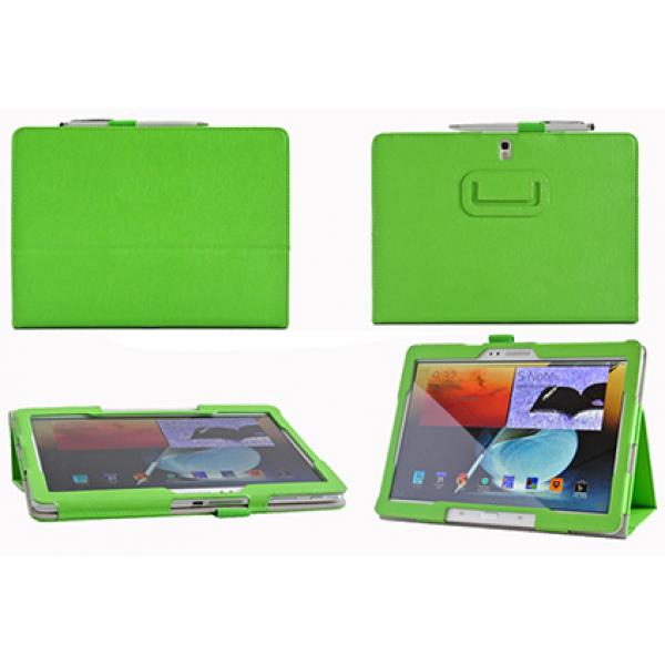 Чехол книжка для планшета Samsung Galaxy Note 10.1 2014 Edition P6000, P6010, P6020, P6050 (Зеленый)