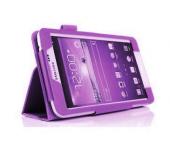 Чехол книжка для планшета Samsung Galaxy Tab 4 7.0 SM-T230, SM-T231, SM-T235 (Фиолетовый)