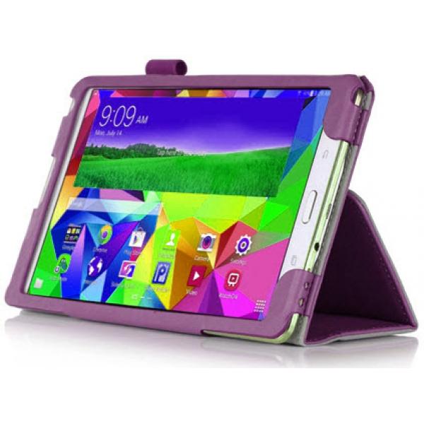 Чехол книжка classic для планшета Samsung Galaxy Tab S 8.4 SM-T700, SM-T705 (фиолетовый)
