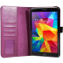 Чехол книжка premium для планшета Samsung Galaxy Tab 4 8.0 SM-T330, SM-T331, SM-T335 (Фиолетовый)