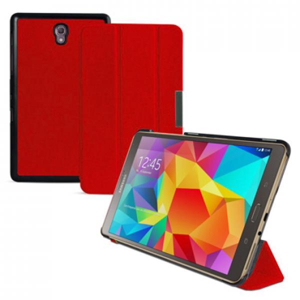 Чехол книжка premium для планшета Samsung Galaxy Tab S 8.4 SM-T700, SM-T705 (Красный)