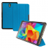 Чехол книжка premium для планшета Samsung Galaxy Tab S 8.4 SM-T700, SM-T705 (Голубой прозрачная задняя сторона)