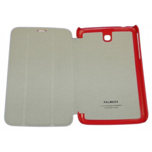 Чехол книжка Smart Cover для планшета Samsung Galaxy Note 8.0 N5100. N5110 (Красный)