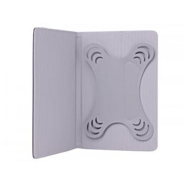"""Универсальный чехол книжка 7"""" дюймов для планшетных компьютеров, планшетов и электронных книг (Черный, премиум)"""