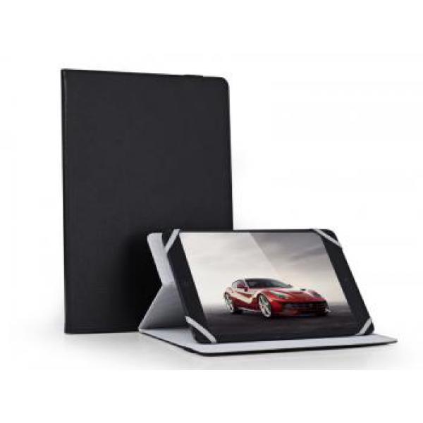 """Универсальный чехол книжка на Растяжках 8"""" дюймов для планшетных компьютеров, планшетов и электронных книг (Черный)"""