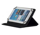 Универсальный чехол книжка, обложка 8 дюймов для планшетных компьютеров, планшетов и электронных книг (Черный)