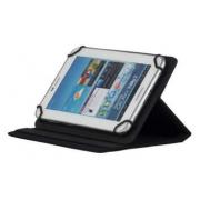 Универсальный чехол книжка 7 дюймов на растяжках для планшетных компьютеров, планшетов и электронных книг (Черный)