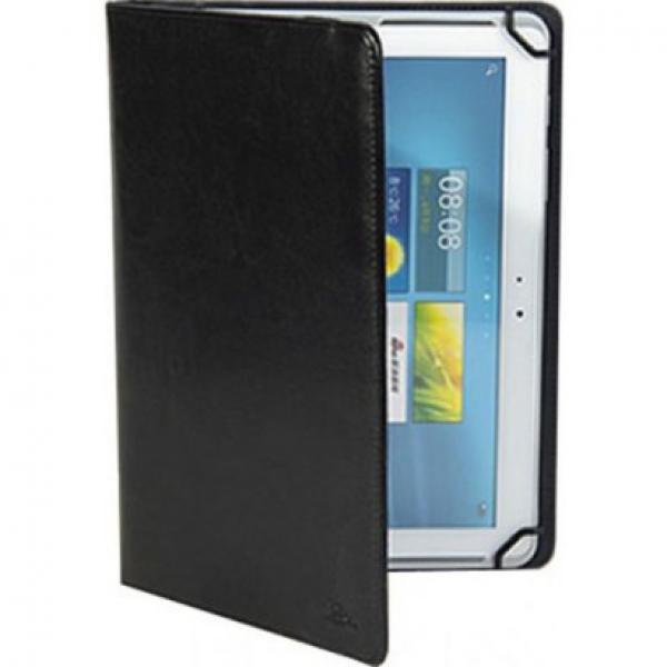 """Универсальный чехол книжка на Растяжках 9"""" дюймов для планшетных компьютеров, планшетов и электронных книг (Черный)"""