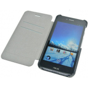 Чехол книжка SlimFit для смартфона Asus PadFone mini 4.3 (Черный)
