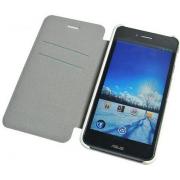 Чехол книжка SlimFit для смартфона Asus PadFone mini 4.3 (Белый)