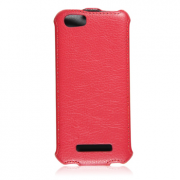 Чехол книжка Armor Case для телефона Fly IQ4413 EVO Chic 3 Quad (Красный)