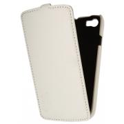 Чехол книжка Armor Case для телефона Fly IQ4414 EVO Tech 3 Quad (Белый)