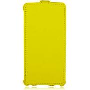 Чехол книжка Armor Case для телефона Fly IQ4490 Era Nano 4 (Желтый)