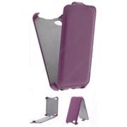 Чехол книжка Armor Case для телефона Fly IQ4490 Era Nano 4 (Фиолетовый)