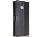 Чехол книжка SlimFit для телефона HTC One M8 (черный)