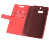 Чехол книжка SlimFit для телефона HTC One M8 (красный)