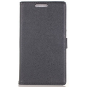Чехол книжка SlimFit для телефона HTC One Max T6 (Черный)