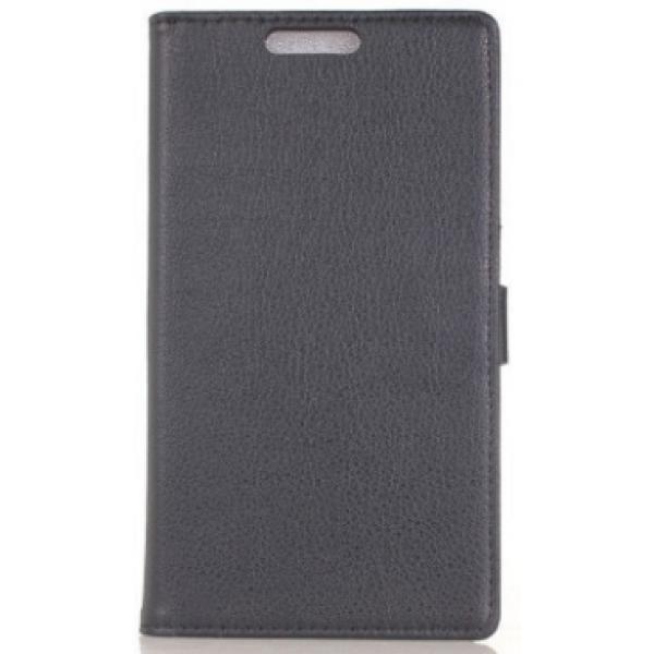 Чехол книжка SlimFit для телефона HTC One Max T6(Черный)