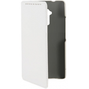 Чехол книжка SlimFit для телефона HTC One Max T6 (Белый)