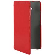 Чехол книжка SlimFit для телефона HTC One Max T6 (Красный)
