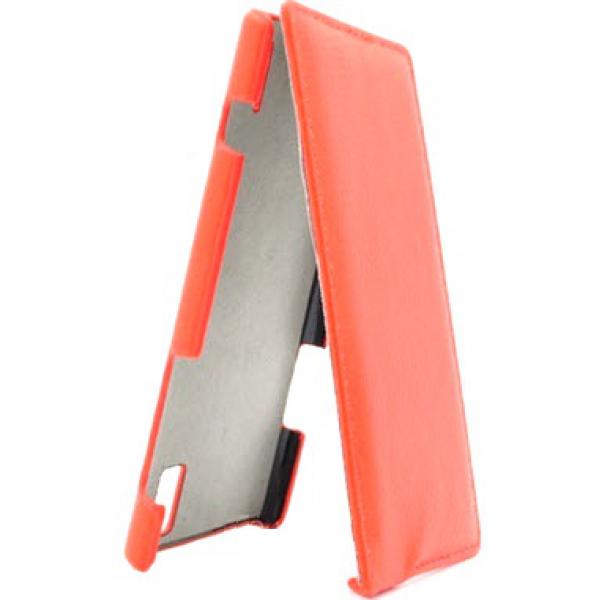 Чехол книжка Armor для смартфона Huawei Ascend P2 (Красный)