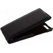 Чехол книжка Armor для смартфона Huawei Ascend P7 mini (Черный)