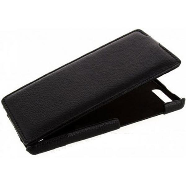 Чехол книжка Armor для телефона Huawei Ascend P7 (Черный)