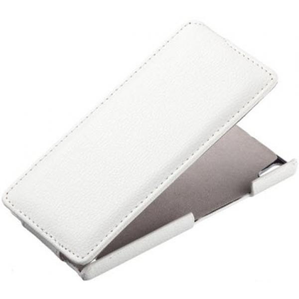 Чехол книжка Armor для телефона Huawei Ascend U8650, Sonic (Белый)