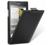 Чехол книжка Armor для телефона Huawei Honor 3X (Черный)