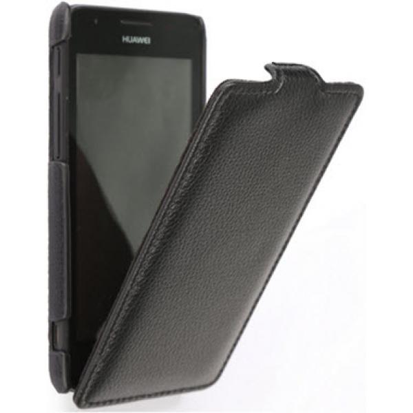 Чехол книжка Art Case для Huawei Ascend G700 (Черный)