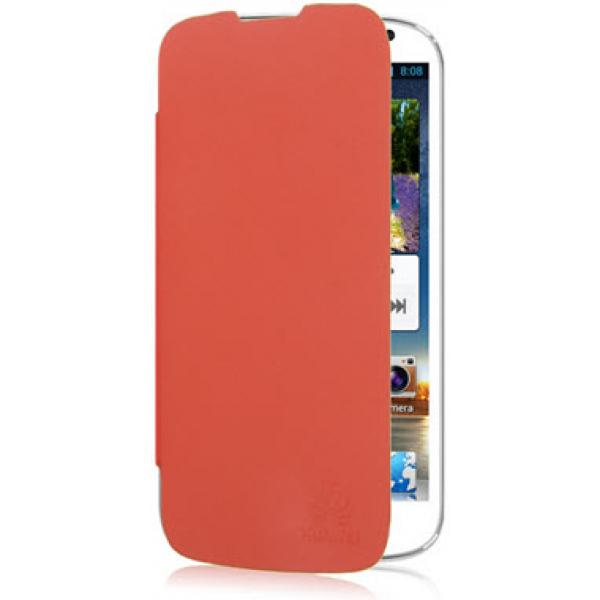 Чехол книжка SlimFit для телефона Huawei Ascend G525 (Красный)