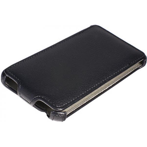 Чехол книжка SlimFit для телефона Huawei Ascend G730 (Черный)