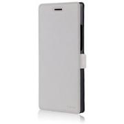 Чехол книжка SlimFit для телефона Huawei Ascend P7 (Белый)