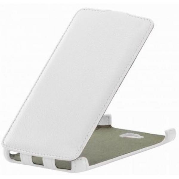 Чехол книжка SlimFit для телефона Huawei Ascend Y600 (Белый)