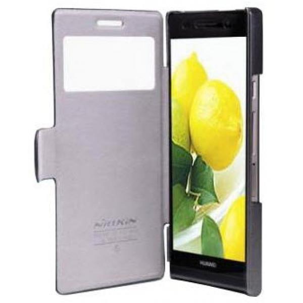 Чехол книжка View Case для телефона Huawei Ascend G6 (Черный)