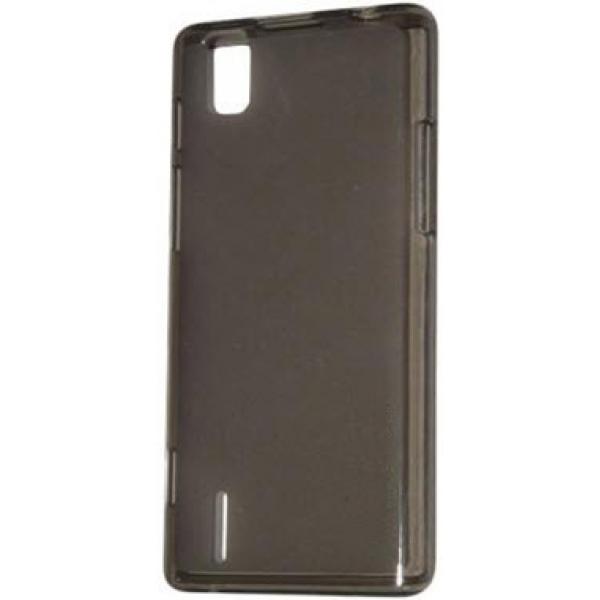 Чехол, задняя накладка, бампер для телефона Huawei Ascend P2 (Черный)