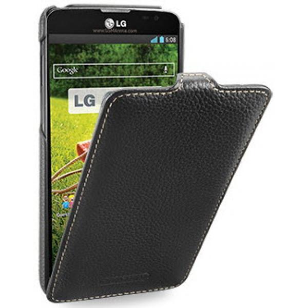 Чехол книжка Armor для телефона LG Optimus G Pro Lite Dual D686 (Черный)