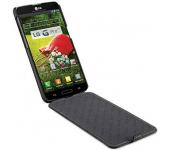Чехол книжка Armor для смартфона LG L80 (Черный)