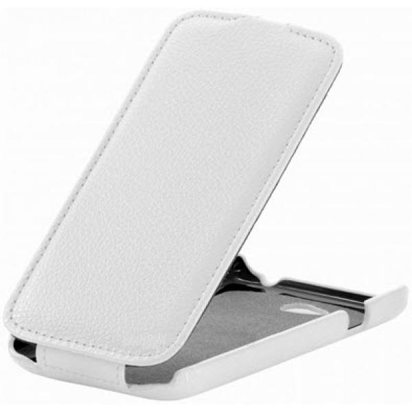 Чехол книжка SlimFit для смартфона LG L70 D325 (Белый)