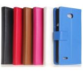 Чехол книжка SlimFit для смартфона LG L80 (Красный)