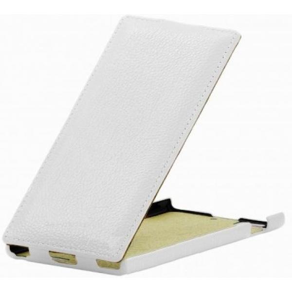 Чехол книжка Armor для телефона Lenovo K900 (Белый)