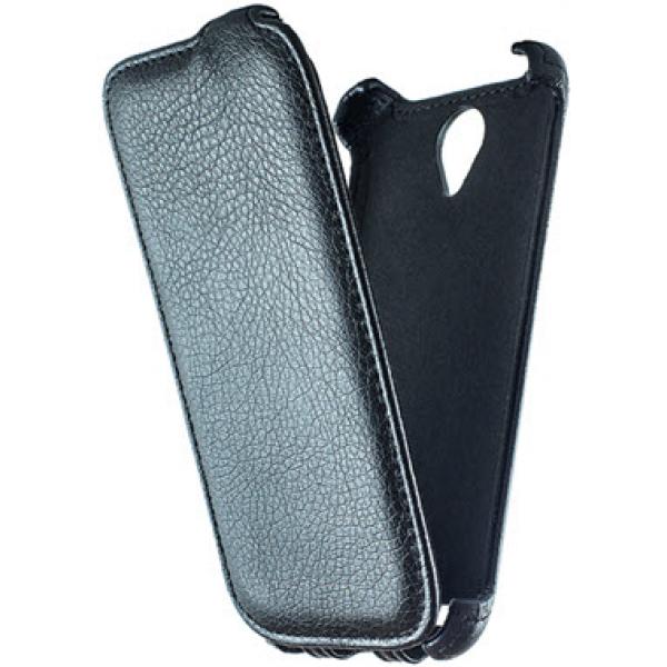 Чехол книжка Armor для телефона Lenovo S650 (Черный)