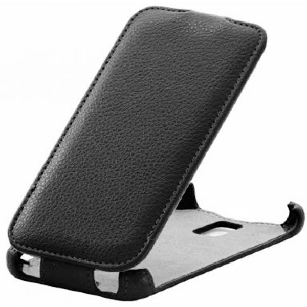 Чехол книжка Armor для телефона Lenovo S660 (Черный)